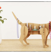 Design Templates for Making Your Own Decorative Cat Shelf from CNC Factory