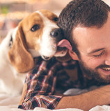 A Doggie Kiss A Day Keeps the Doctor Away